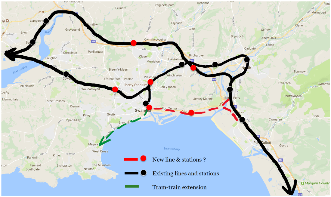 Swansea Rail idea July 2017